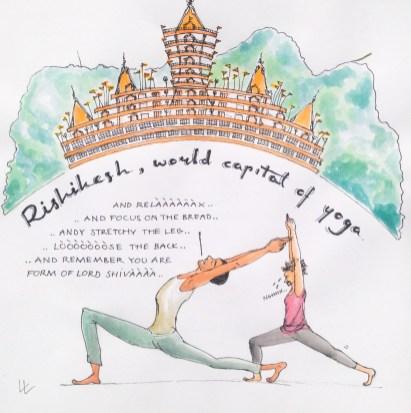 Rishikesh capital of yoga india