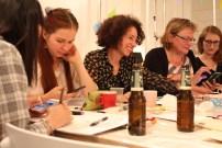 alicia read, rotterdam, talk & draw 010, event, meetup, digital playground rotterdam, illustrator, creative, network, lilian leahy, 5th edition, art talk