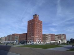 Reception building, Swansea University Bay Campus
