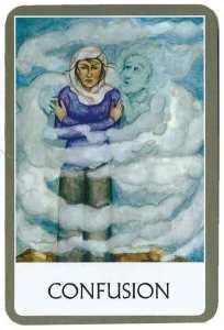 oráculo de los chakras  CONFUSION