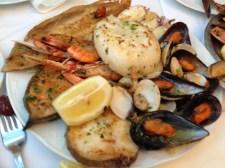 Food from La Rambla