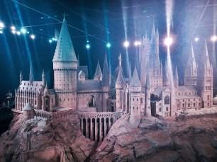 A model of Hogwarts