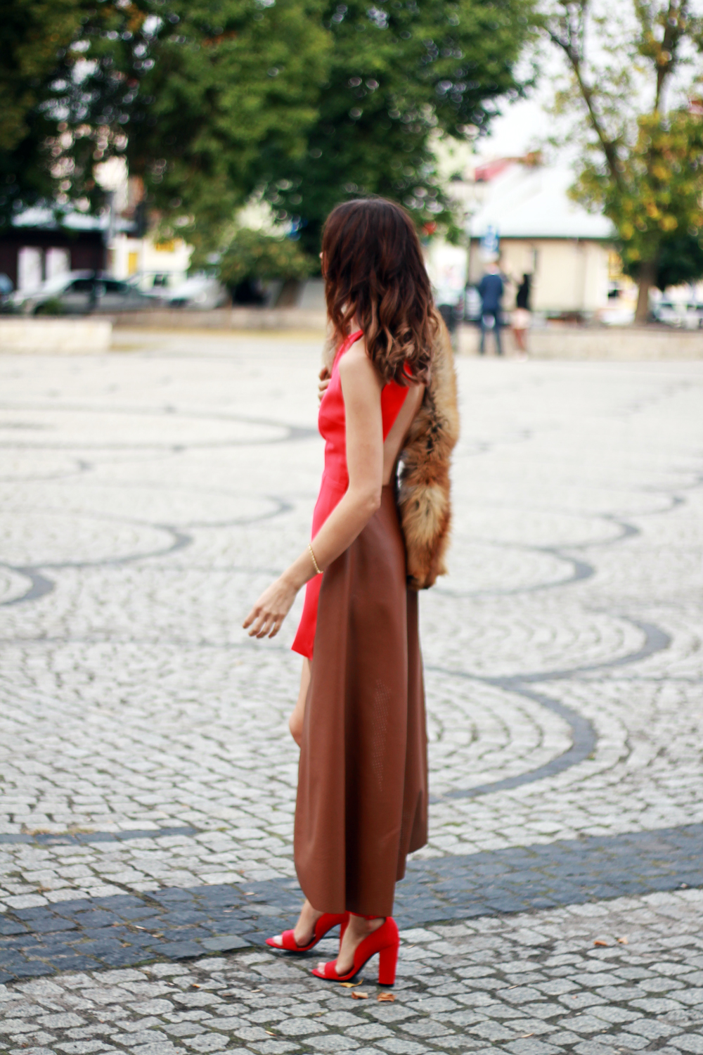 red dress original chic outfit clothes tumblr girl