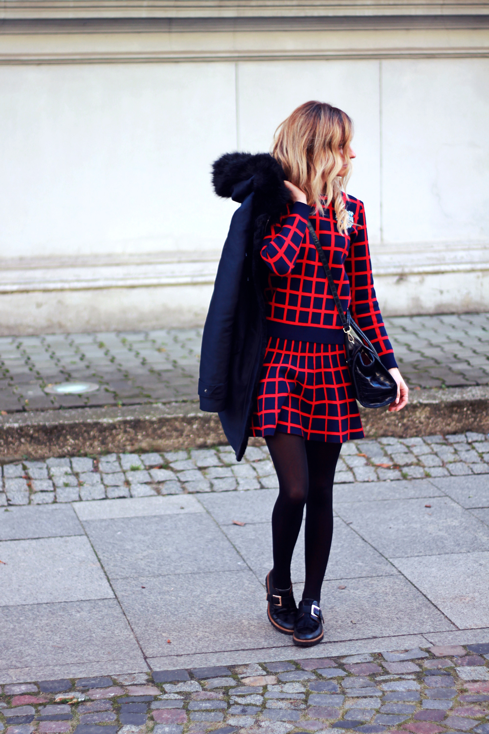 blonde fashion blogger girl look combo outfit street style tumblr