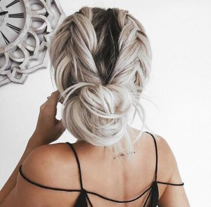 braids inspiration tumblr pinterest hairstyle beautiful messy hair bun