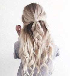 braids inspiration tumblr pinterest hairstyle messy hair braid inspo long blonde hair girl