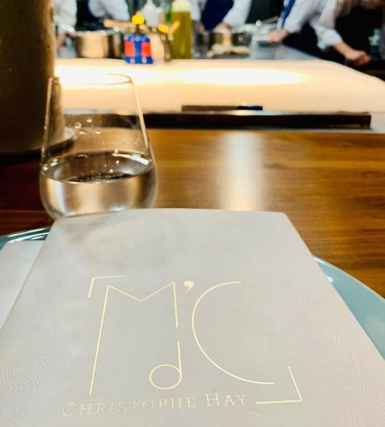 table du chef au restaurant la maison d'à côté monlivault