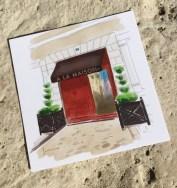 Carte de visite du restaurant à la maison MEung sur Loire