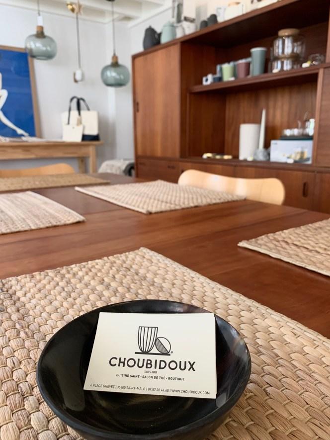 Table repas salon de thé thé choubidoux