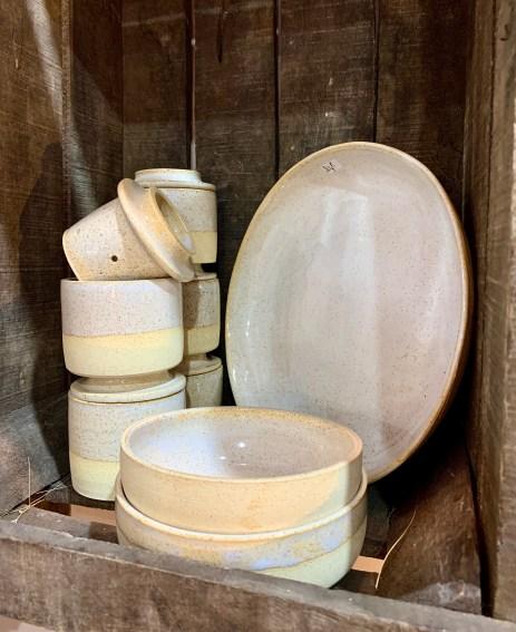 vaisselle grès Sandra Gasnier