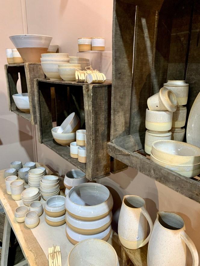 stand céramique Sandra Gasnier
