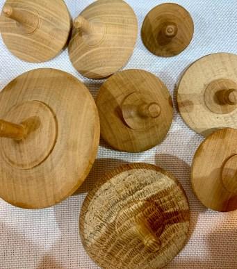 toupies bois Atelier Art Boisé