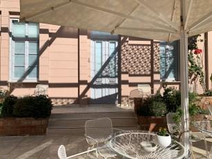 Terrasse hotel Ambassadors residence chania