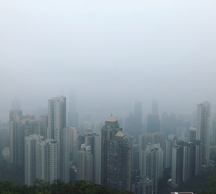 En transit à Hong Kong
