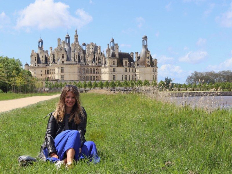 Lilieindawood Château de Chambord
