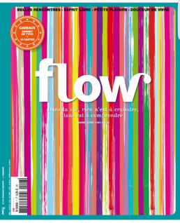 """magazine """"Flow"""""""
