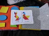 tangram quiet book