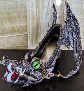 Dragon Witch Shoe