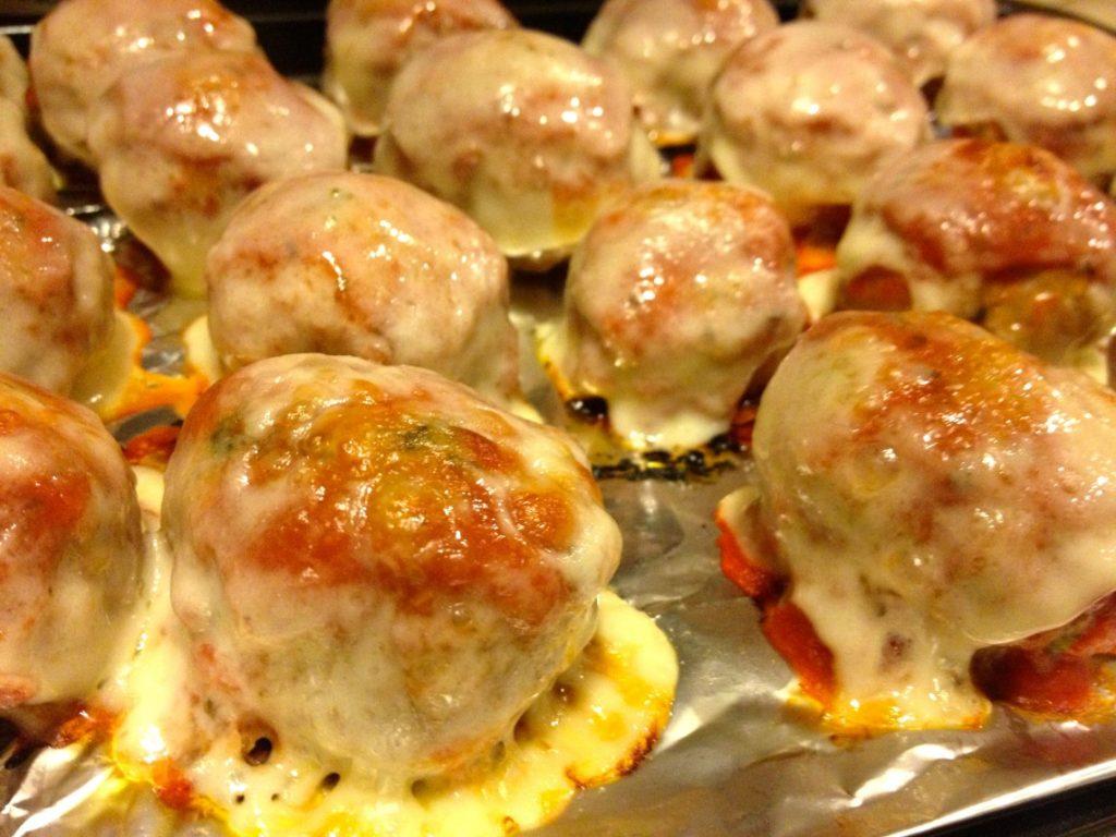 Turkey Parm Meatballs
