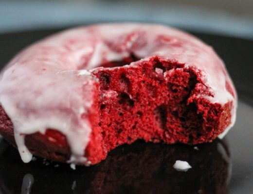 Old Fashioned Red Velvet Donuts