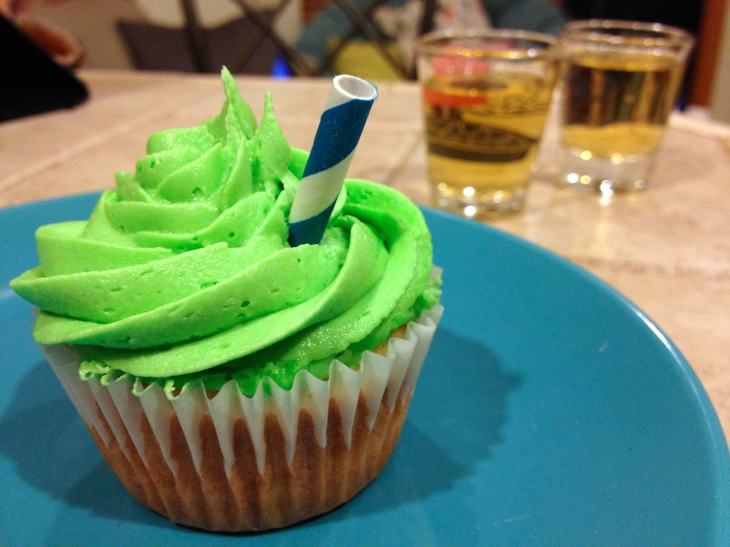 Marquisrita aka margarita cupcakes