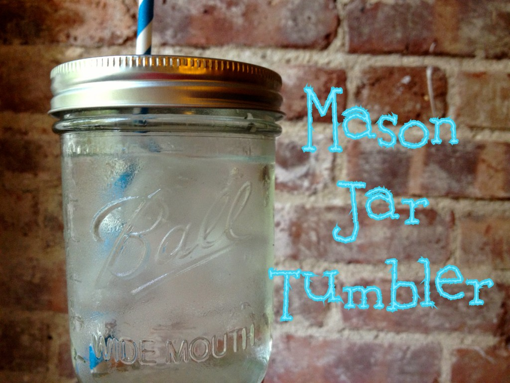 Mason Jar Tumbler
