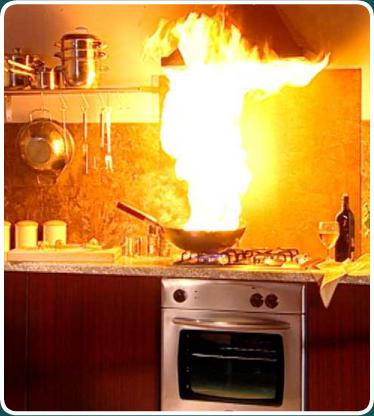 Kitchen-Fire-Clip-Art