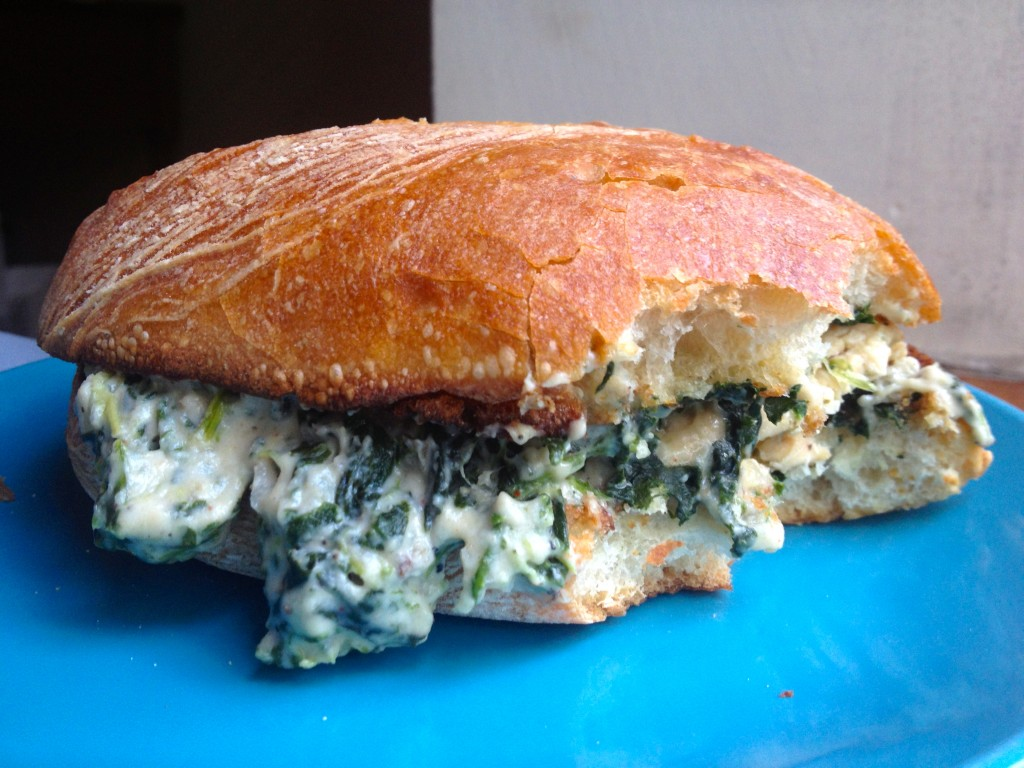 Spinach Artichoke Panini