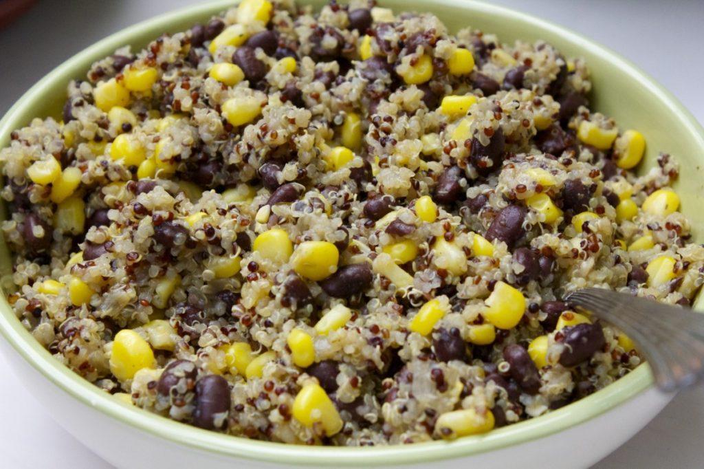 Quinoa Black Bean Corn Salad