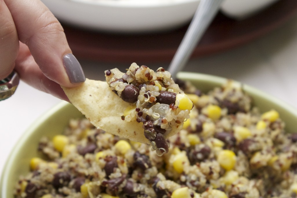 Quinoa Black Bean Corn Salad
