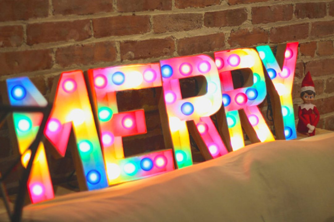 Elf on the Shelf Merry Marquee
