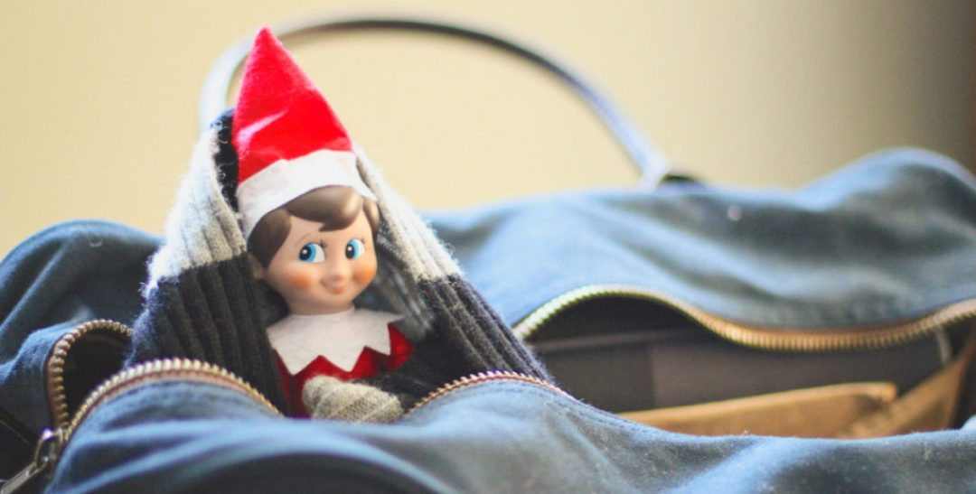 Elf on the Shelf Luggage