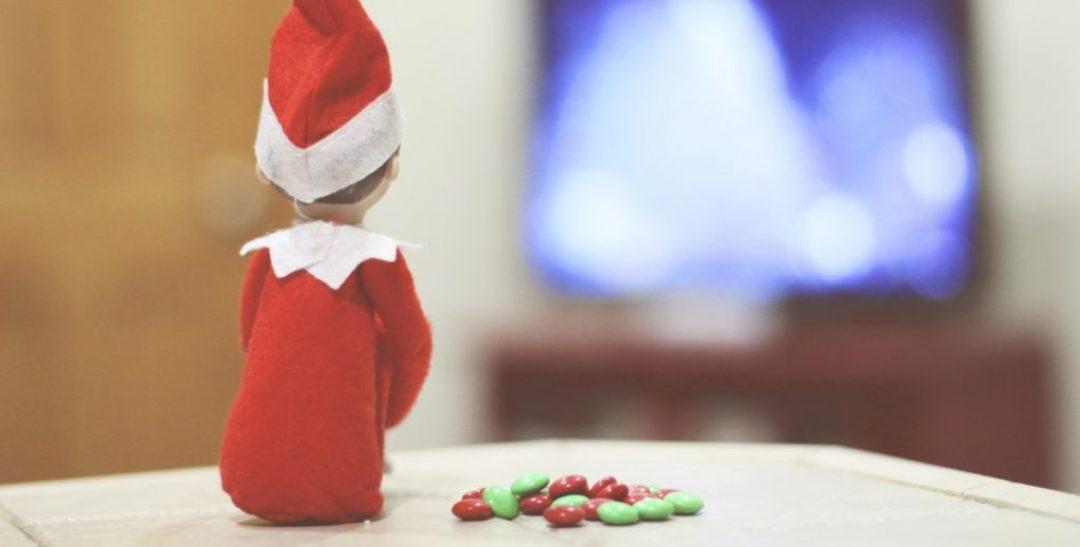 Elf on the Shelf: Watching the Rockefeller Tree Lighting