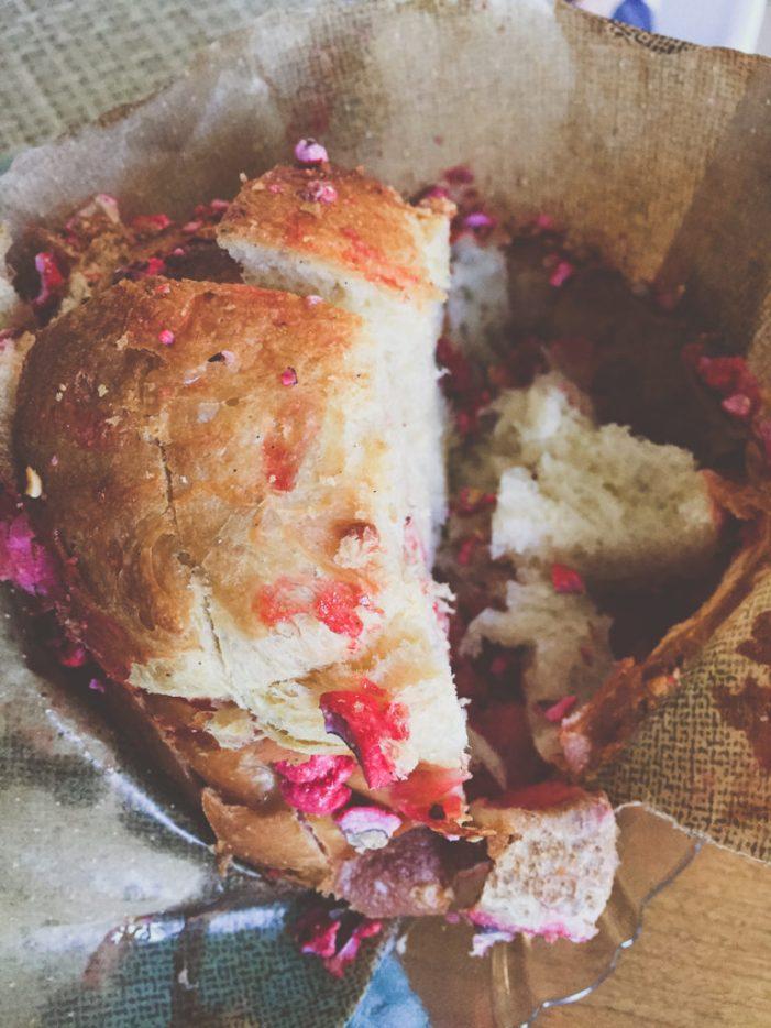 Fresh-Baked Raspberry Brioche