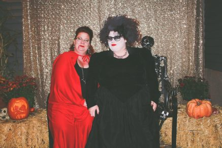 Vampire and Ghoulish Witch