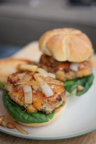 Turkey Burger Sliders