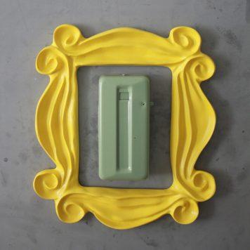 Friends Yellow Peephole Door Frame