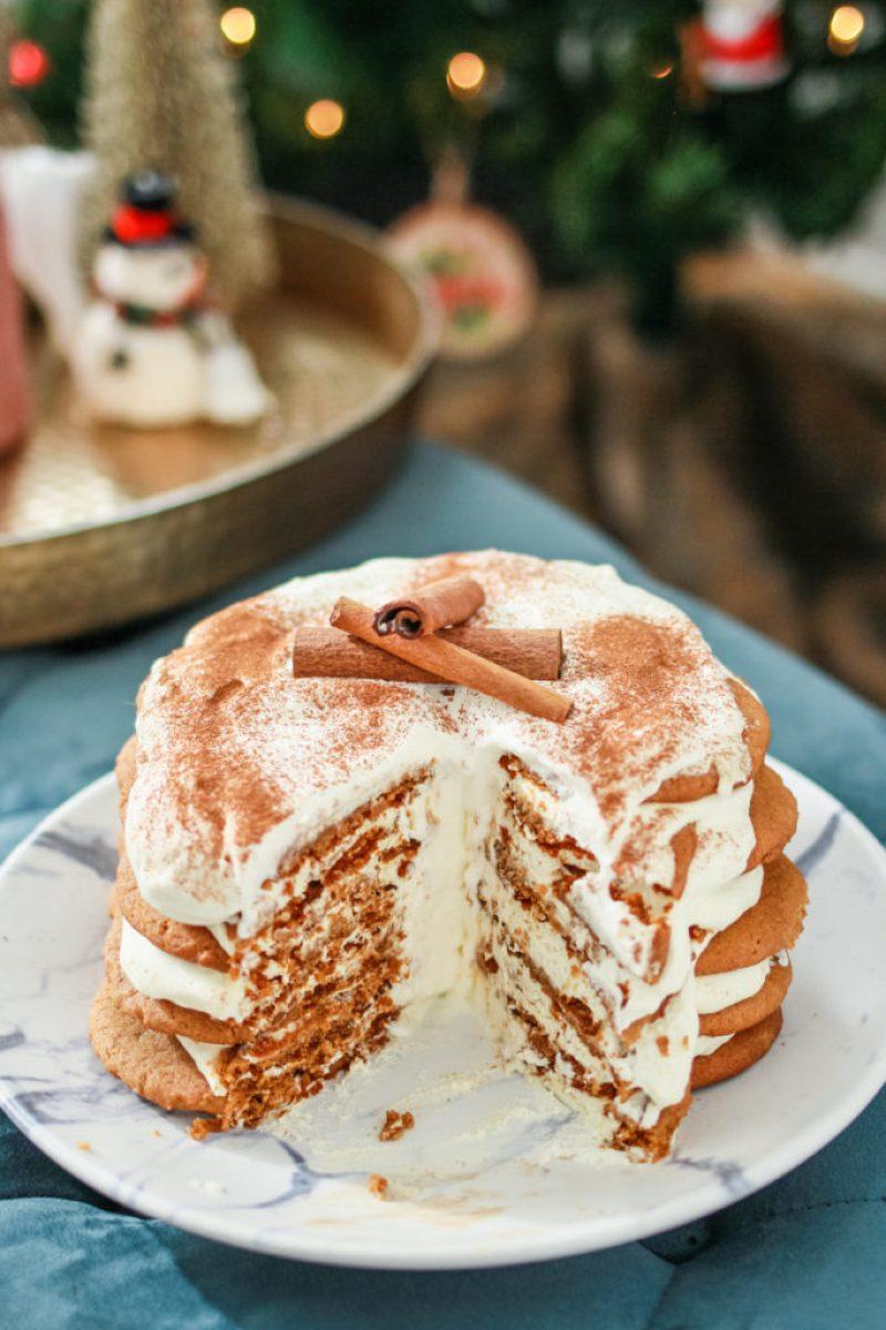 Ginger Spiced Ice Box Cake