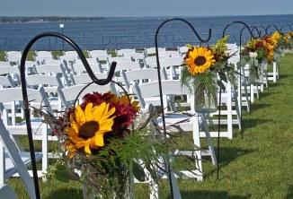 Sunflower Aisle Flowers