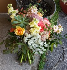 Mixed Bouquet with Succulent