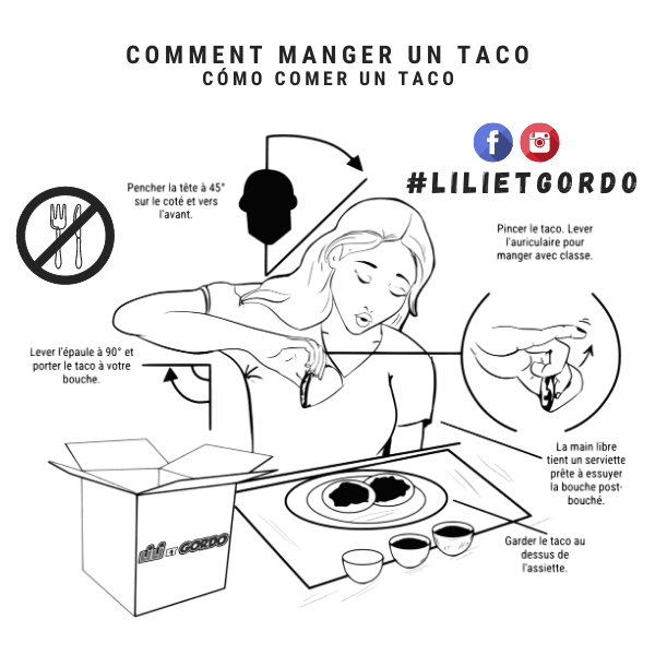 comment manger un taco mexicain ?