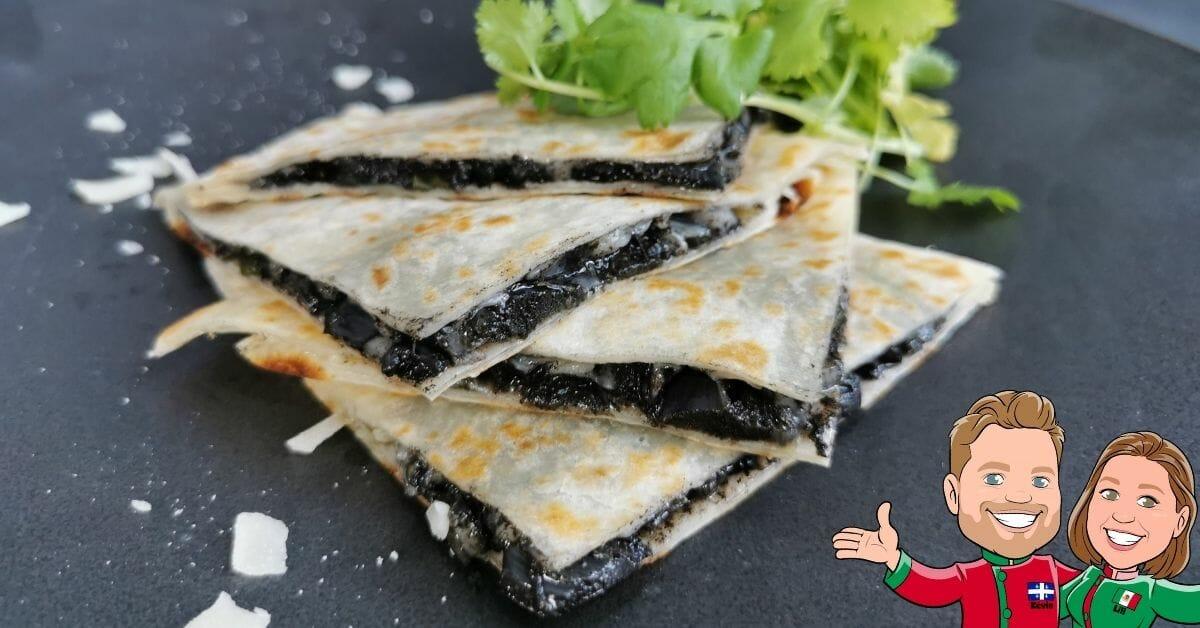 recette quesadilla huitlacoche