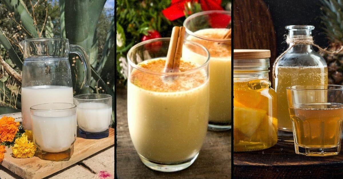 blogue - alcools mexicains - rompope - pulque - tepache