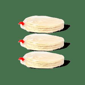 30 tortillas de mais