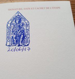 1er tampon au Puy en Velay