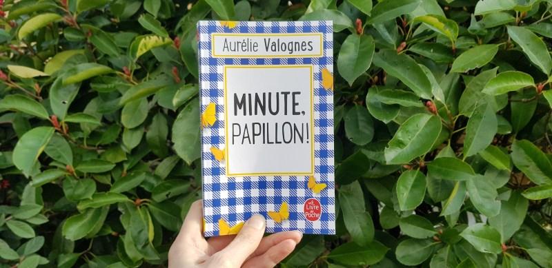 Minute papillon ! de Aurélie Valognes