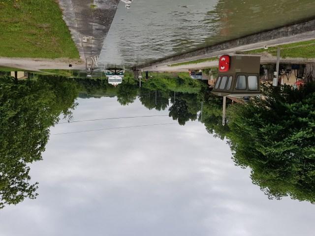 Ecluse canal de Moissac