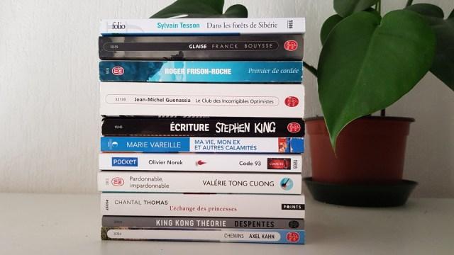 L'été en livres de poche