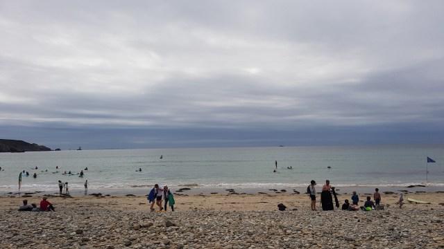 Les surfeurs de la baie des trépassés