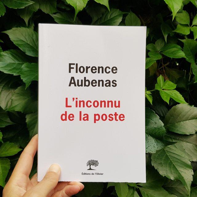 L'inconnu de la poste Florence Aubenas